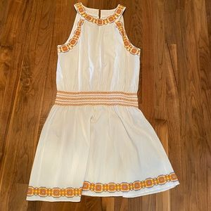 Tory Burch sundress with embroidered detail